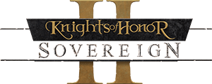 Logo: Knights of Honor II: Sovereign